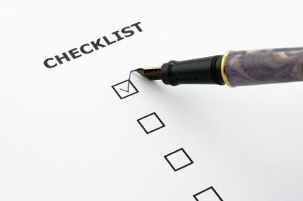 Search Engine Optimisation Checklist